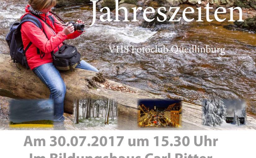 Ausstellungseröffnung Fotoausstellung Jahreszeiten